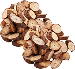 75pcs Natural Wood Slices, Rustic Unfinished Wood Log Slice Discs Tree Bark Wooden Circles for Arts Crafts Ornaments Wedding centerpieces Christmas DIY Easter Party Decoration, 1.2 to 2 Inch