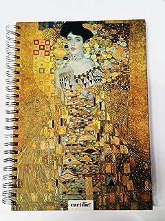 Confezione da 6 taccuini A5 con copertina morbida Klimt