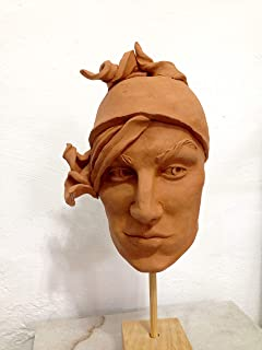 Saul I, Escultura moldeado en barro