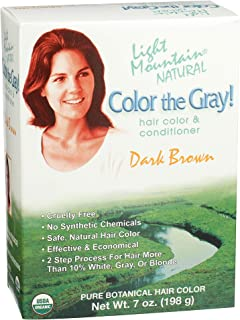 Light Mountain Natural 2 Piece Natural Color The Gray!, Dark Brown