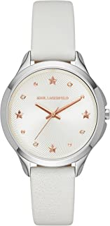 Karl Lagerfeld Women's KL3014 Karoline Analog Display Analog Quartz White Watch