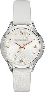 Karl Lagerfeld Women's KL3014 Karoline Analog Display Analog Quartz White Watch