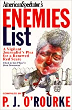 The American Spectator's Enemies List: A Vigilant Journalist's Plea for a Renewed Red Scare