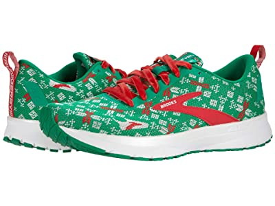 Brooks Revel 4 (Jolly Green/Red/Bright White) Men