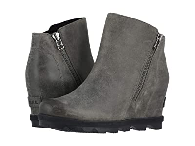 SOREL Joan of Arctictm Wedge II Zip (Quarry) Women
