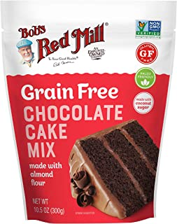 Bob's Red Mill Grain Free Chocolate Cake Mix, 10.5oz (Pack of 5)