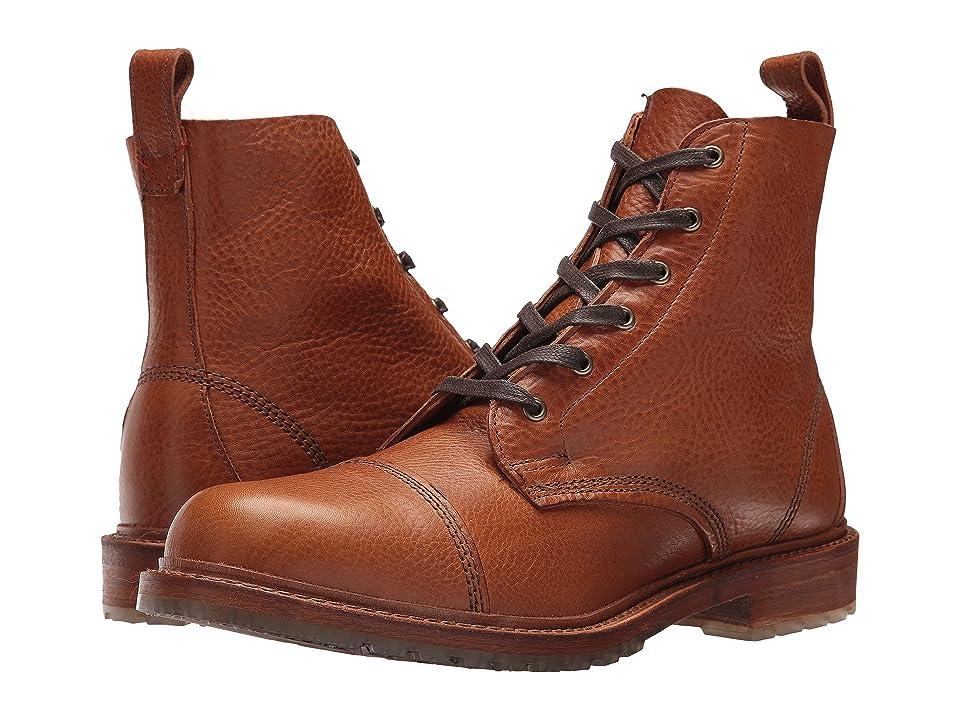 Allen Edmonds Caen (Tan Grain Leather) Men