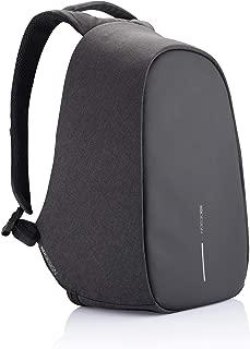 XD Design Bobby Pro Anti-Theft Backpack USB/Type C (Unisex Bag), Black (Black) - P705.241