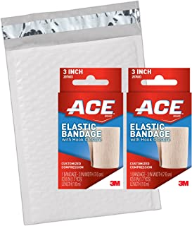 ACE Elastic Bandage with Hook-and-Loop Closure, 3 Inch (Pack of 2)