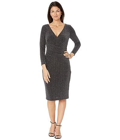 LAUREN Ralph Lauren Cammah Dress (Black/Silver) Women