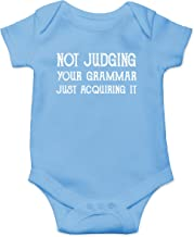 Not Judging Your Grammar, Just Acquiring It Funny Cute Infant Creeper, One-Piece Baby Bodysuit