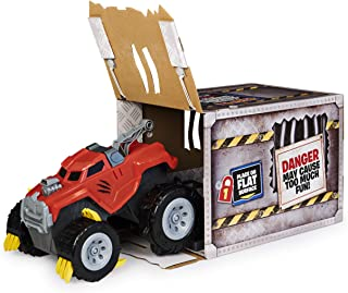 The Animal, Interactive Unboxing Toy Truck with Retractable Claws and Lights and Sounds, for Kids Aged 4 and up