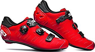 Ergo 5 Carbon Road Cycling Shoes (46.0, Matte Red/Black)