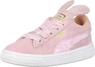 PUMA 彪馬 女童復活節絨面革運動鞋 Pale Pink-coral Cloud- Team Gold 9 M US Toddler