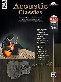 Classic Acoustic Guitar Play-Along: Guitar Tab, Book & CD-ROM