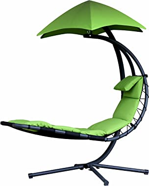 Vivere All Weather Dream Chair, Green Apple