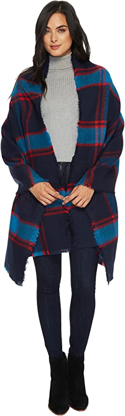 Michael Stars - Brushed Plaid Wrap