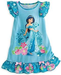 Disney Store Princess Jasmine Girl Nightgown Night Shirt Pajama (S 5 6) fbb65882c