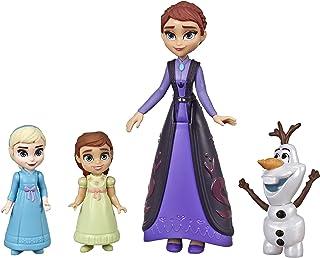 Disney La Reine des Neiges 2 - Coffret de Mini figurines Elsa, Anna, la Reine Iduna et Olaf