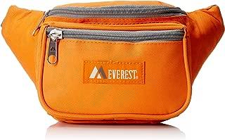 Everest Signature Waist Pack - Standard, Orange (Orange) - 044KD-OG