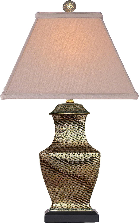East Enterprises LPFL1012Y 4 Kansas City Mall years warranty Table Multicolored Lamp