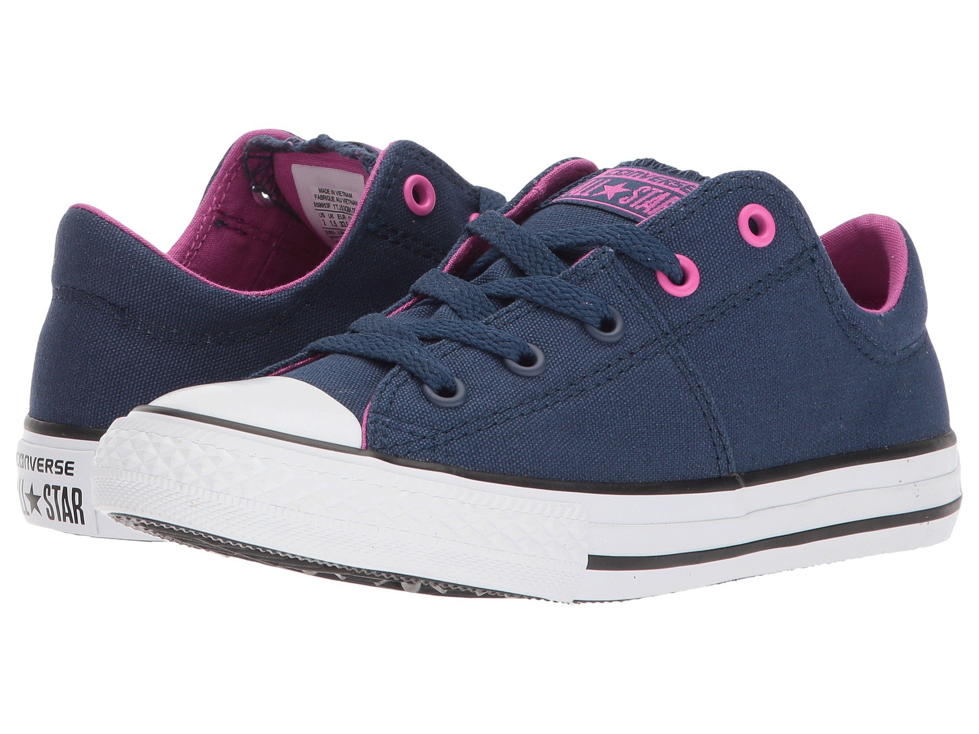Converse kids girls shipped free at zappos view more like this converse kids chuck taylor all star madison ox little kidbig kid nvjuhfo Choice Image