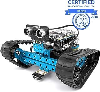 Makeblock mBot Ranger, Kit de Robot programable para Que los niños aprendan codificación, Kit de Robot Educativo 3 en 1, Tres Formas, versión Bluetooth, Azul, Steam Education, Regalo para niños