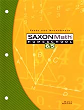 Saxon Math Homeschool 6/5: Tests and Worksheets PDF