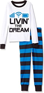 The Children's Place Big Boys' Living The Dream Themed Pajamas
