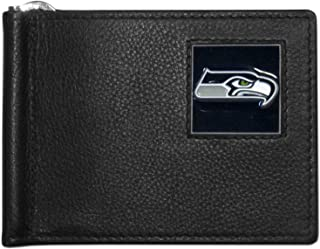 Siskiyou Sports NFL Leather Bill Clip Wallet