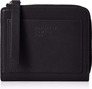 [マーガレット・ハウエル アイデア] 折財布 【ピルモント】牛革 ロゴ入りカードポケット MHLW0AS2(専用BOX入り)