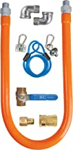 BK Resources Gas Hose Connection Kit #3 with Accessories, 3/4 Inch Diameter, 48 Inch Long Hose