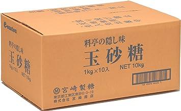 宮崎製糖 玉砂糖 1kg×10袋