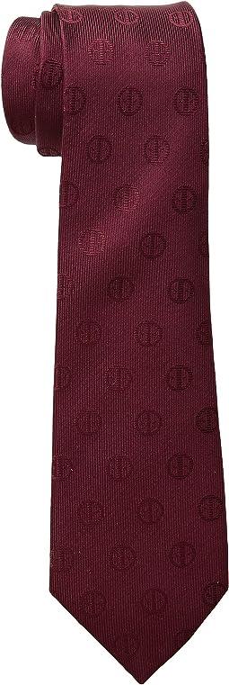 Deadpool Maroon Tie