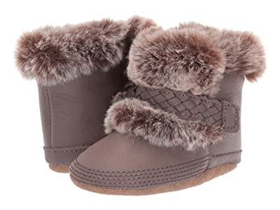 Robeez Montana Cozy Bootie Soft Sole (Infant/Toddler) (Brown) Girl