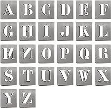 HAUTMEC 26 Industrial Letters Stencils Reusable HD00001