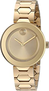 Women's Swiss Quartz Tone and Gold Plated Watch(Model: 3600382)
