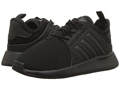 adidas Originals Kids X PLR (Toddler) (Black) Kids Shoes