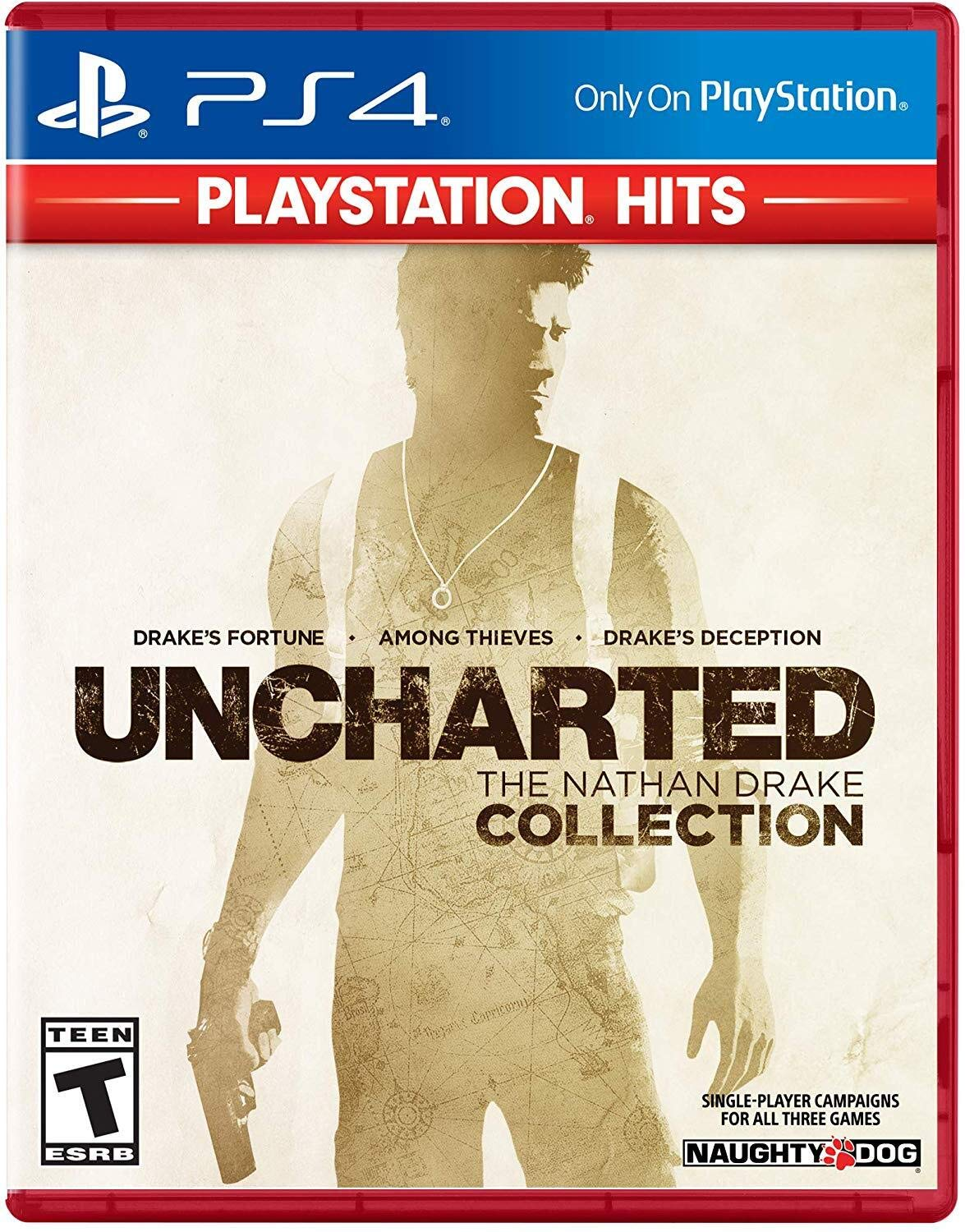 Uncharted: Nathan Drake Collection 4 Limited time trial Omaha Mall price - Hits PlayStation