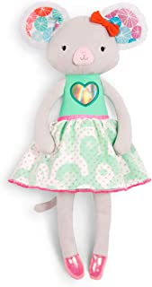 B. toys by Battat – Tippy Toes – Melody Mouse – Soft & Cuddly Plush Mouse Doll – Stuffed Animal Toy – Non-Toxic – Washable...