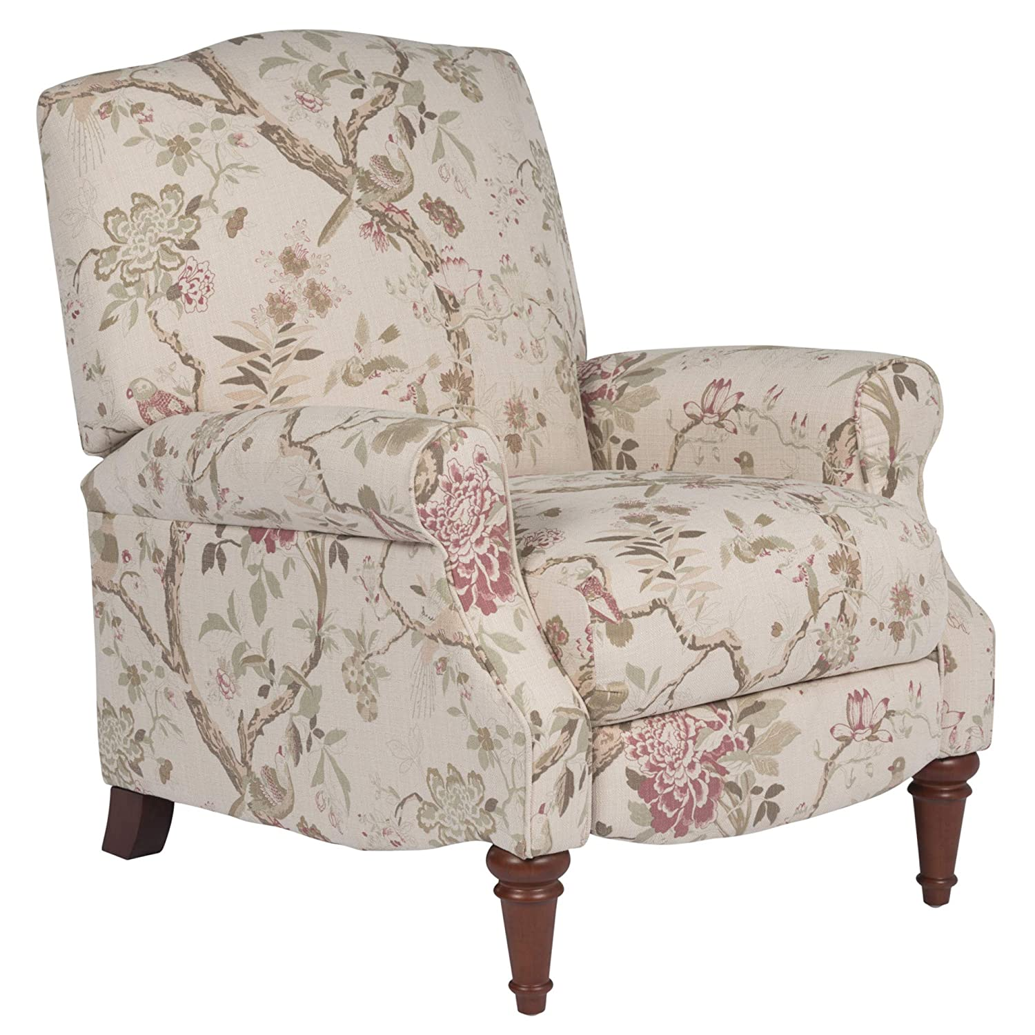 Sunset Trading Accent Recliner At the price of surprise Sale special price Pink Beige Green