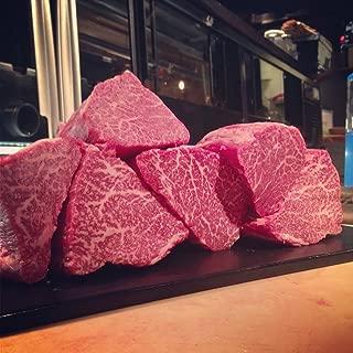 100% A5 Grade Japanese Wagyu Kobe Beef, Filet Mignon, 10 Ounce
