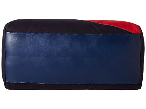 Azul Hilfiger Duffel Color Hilfiger Lienzo Logo Tommy Múltiple Block marino dtg0qnw