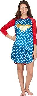 DC Comics Logo Ragalan Pajama Nightgown