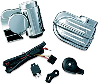 Kuryakyn 7290 Motorcycle Accessory: Super Deluxe Wolo Bad Boy Air Horn, Chrome