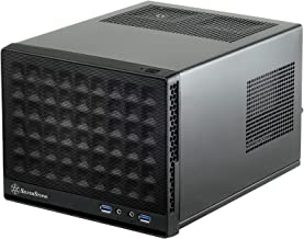 SilverStone Technology Ultra Compact Mini-ITX Computer Case with Mesh Front Panel Black..