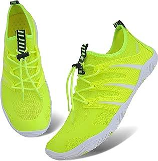 Ubang Mens Womens Water Shoes Slip-on Sports Quick Dry Barefoot for Swim Diving Surf Aqua Walking Running