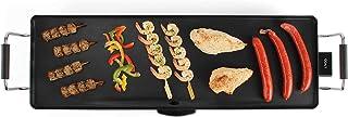 Livoo DOM231 Plancha Électrique Teppan Yaki | Plancha de table, Grande surface, Grill de 90 cm | Thermostat réglable | 180...
