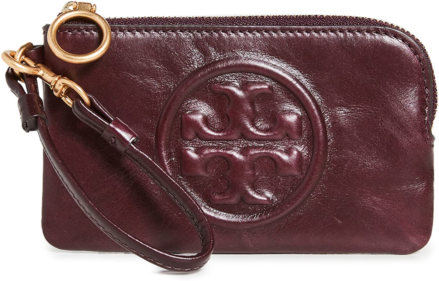 OFFicial site Tory Burch Women's Perry Bombe Case Milwaukee Mall Top-Zip Card Glazed
