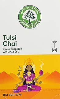 Lebensbaum Bio Kräuterteemischung Tulsi und Chai, 3er Pack 3 x 40 g
